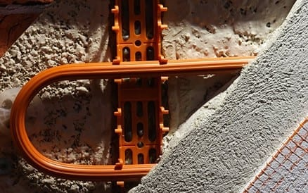 Compleet elektrische verwarming van bijvoorbeeld de muren is ook mogelijk.