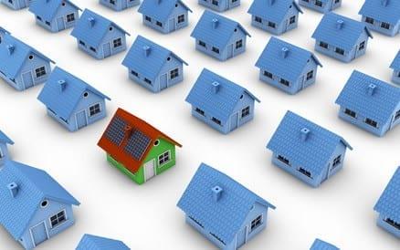 Woning die voorzien zijn van zonnepanelen hebben een hogere verkoopwaarde, een beter Energielabel en een gunstig energieverbruik